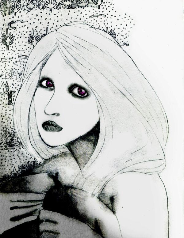 My sketch by Mushua , via Behance
