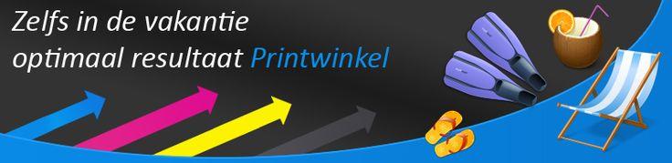 Zelfs in de vakantie optimaal resultaat met Printwinkel producten!