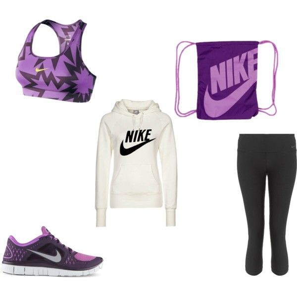 """Active Day- Nike Athletic Outfit"" by marlowe13 on Polyvore"