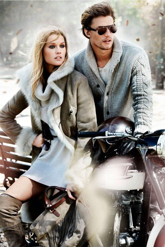 Massimo Dutti Fall Winter 2013 ad campaign, sweaters, winter look , hot couple