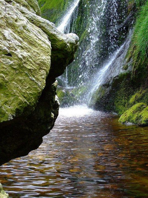 RELAX.....and .... ENJOY LIFE    Enniskerry Waterfall in Co Wicklow (Ireland)