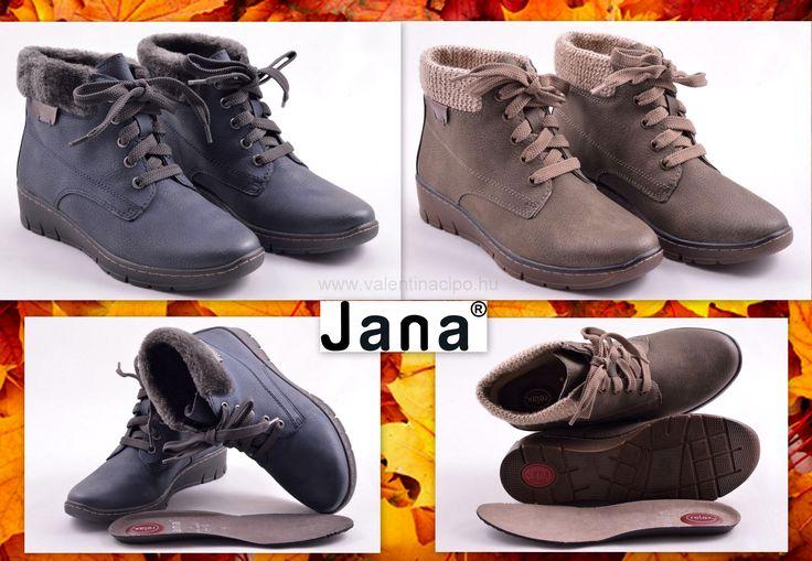 Jana őszi női bokacipők érkeztek a Valentina Cipőboltokba és webáruházunkba! A Jana lábbelik relax talppal és gerinckímélő talpbetéttel biztosítják a komfortérzetet :)  http://valentinacipo.hu/jana/noi/kek/bokacipo/147566641  http://valentinacipo.hu/jana/noi/zold/bokacipo/147565741  #jana #jana_cipő #jana_cipőbolt #Valentina_cipőboltok
