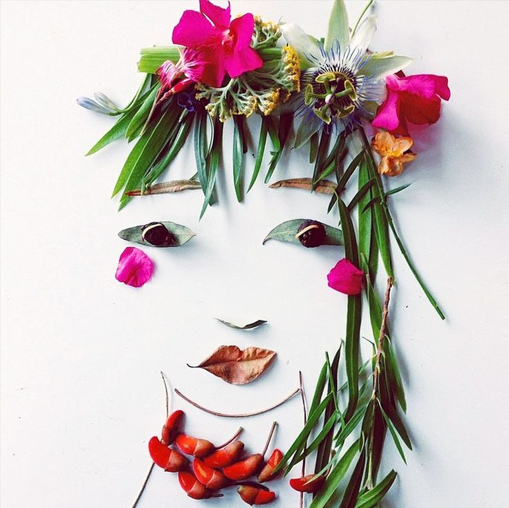 Follow decorator, blogger and authorJustina Blakeney's #facethefoliage  project on Instagramfor more colourful and clever faces.