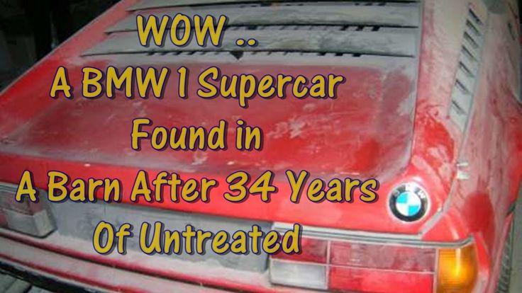 BMW 1 Supercar Found in a Barn