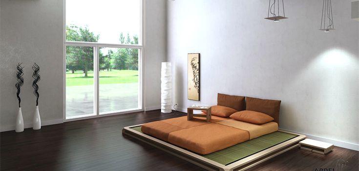Schlafkomfort… …auf asiatisch: Futon, Tatami, Bettgestelle für Samurais und Sie! In unserem Schauraum und im Onlinestore.
