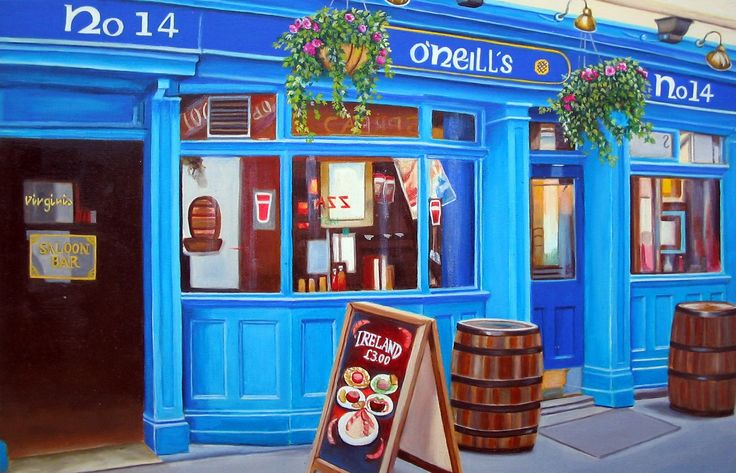 O'Neills is an Irish themed pub bar that sells Irish beers and influenced food together with some more English dishes. There are large screens that show most sporting events. Sunday Irish music sessions are not to be missed, with live music from 6pm until close.