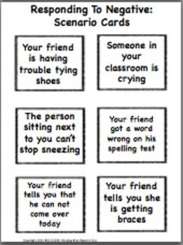 RESPONDING TO OTHERS BINGO: A PERSPECTIVE TAKING ACTIVITY - TeachersPayTeachers.comhttps://www.teacherspayteachers.com/Store/Kid-Codes-Helping-Kids-Figure-It-Out