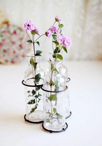 reuse glass bottles crafts.