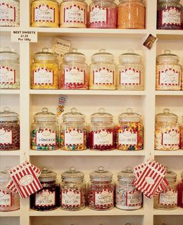 Idea for my Vintage Candy store that I want to open.....someday.