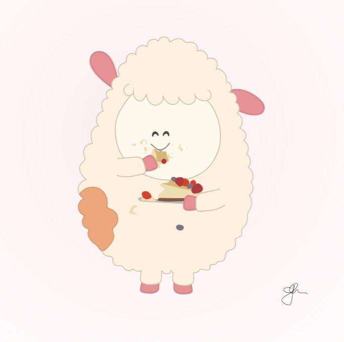 Het verhaal van de Boerderij Vriendjes: Cheesecake dag #meisjeskamer #jongenskamer #wanddecoratie #inspiratie #kinderkamer #muursticker #baby #boerderij #dieren #boerderijdiertjes #blauw #groen #pastel #kuiken #kalf #varkentje #eendje #konijn #schaap #lammetje #lam #boerderijvriendjes #peuter #kwaliteit #design #uniek #nederland #zwanger #zwangerschap #pasgeboren #interieur #muur #liefde #stickergalerij #mama #moederdag  Voor de volledige collectie kijk op: www.stickergalerij.nl