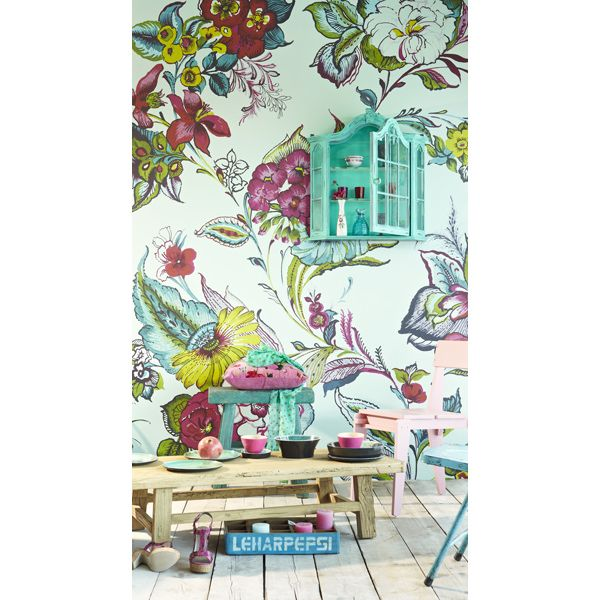 17 best images about english country gardens wallpaper on for English garden wall mural