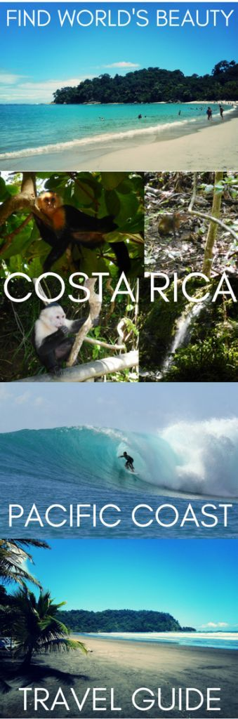 Costa Rica Pacific Coast Travel Guide: San José, Jacó, Quepos and Manuel Antonio – Find World's Beauty