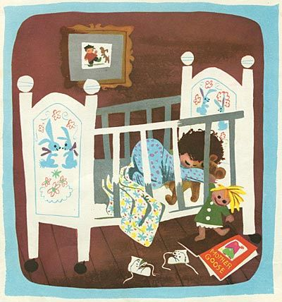 "From ""Baby's House,"" illustrated by Mary Blair."