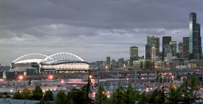 Century Link Field - Home of The Seattle Seahawks