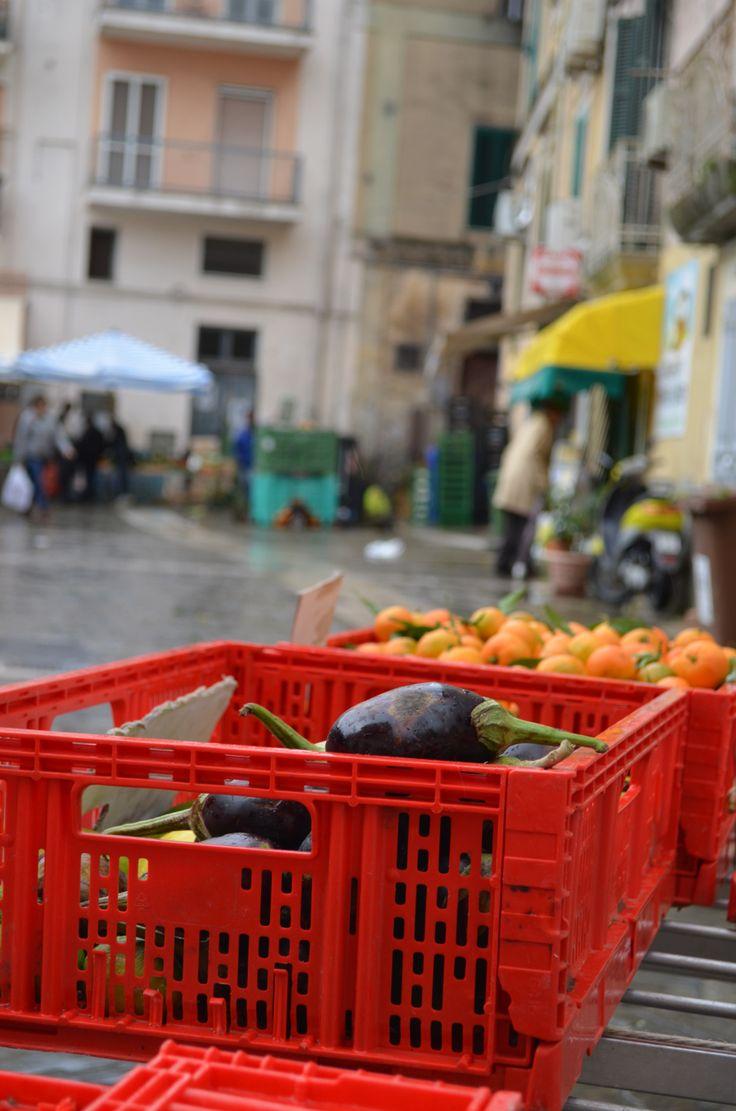 Matera market, Italy