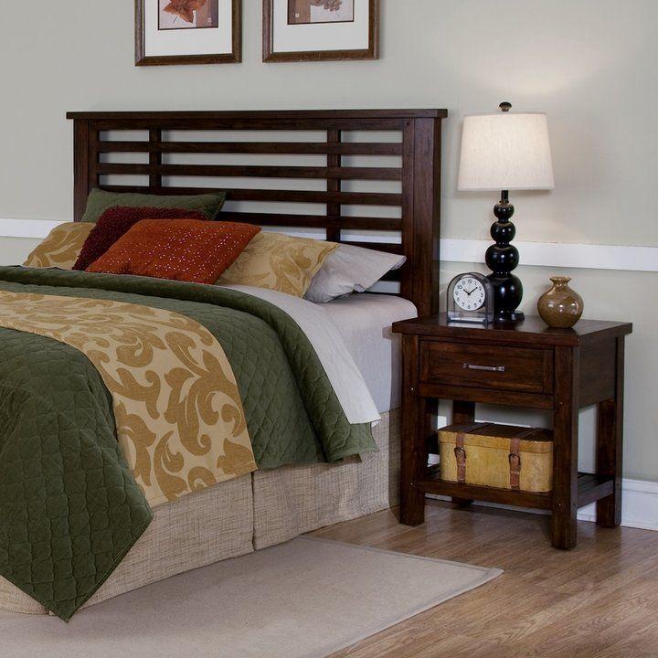 Home Styles Cabin Creek 2-pc. King/California King Headboard and Nightstand Set
