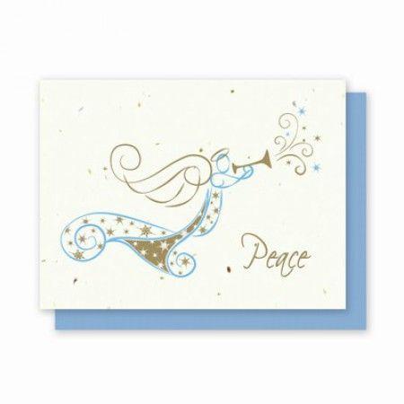 Необычный ангел донесет ваши теплые пожелания самым дорогим и близким.