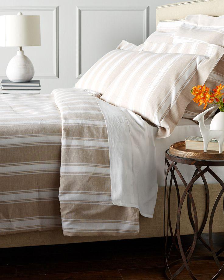 Belle Epoque Linen Stripe Duvet Set is on Rue. Shop it now.