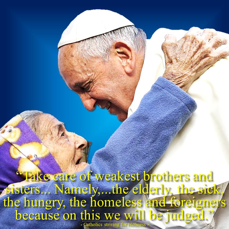 """BE COMPASSIONATE AND MERCIFUL! LOVE AND HELP THE WEAK AND THE NEEDY.  The Extraordinary Jubilee Year of Mercy is a great occasion for all of us to heed God's call: """"Be merciful, a…"""