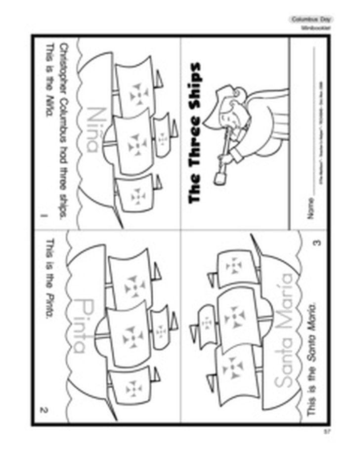 3 Christopher Columbus Math Worksheets Educacion Preescolar Educacion Material Escolar