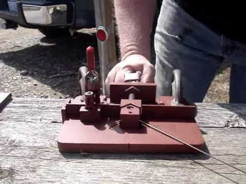 ACWSA Metal Target Wire Bender Instruction Video - YouTube