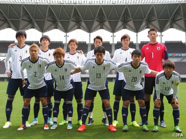 U-20日本代表候補 ジェフユナイテッド千葉に4-1で勝利 | JFA|公益財団法人日本サッカー協会 http://www.jfa.jp/national_team/u20_2017/news/00013291/