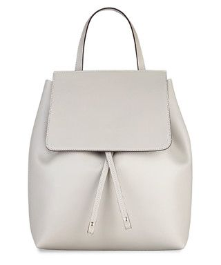 Grey leather backpack - MADE IN ITALIA | Style | Pinterest | In ...