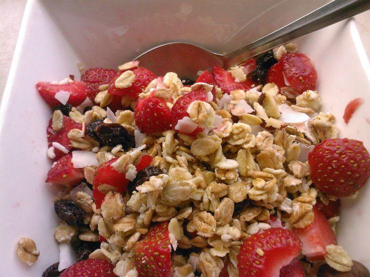 Weg naar zelfvoorziening: Recept: Veganistische havermout met vers fruit