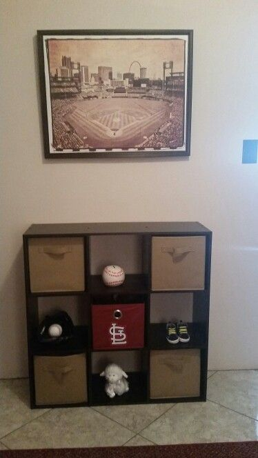 St Louis Cardinals vintage baseball nursery