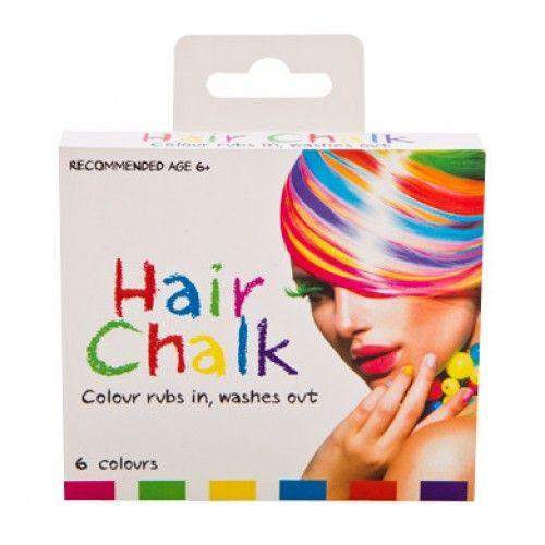 Hair Chalk 6 Colours