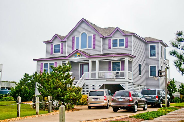 Duck, NC Event Rental Home. The Private Walkway To The