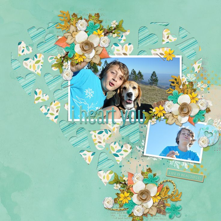 This is family November anthology at The Digital Scrapbooking Studio