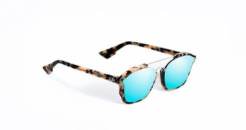 """These have just been added to my list of outrageously expensive needs, wants, have to haves. - """"DIOR ABSTRACT"""" SUNGLASSESBLEU BOREAL"""