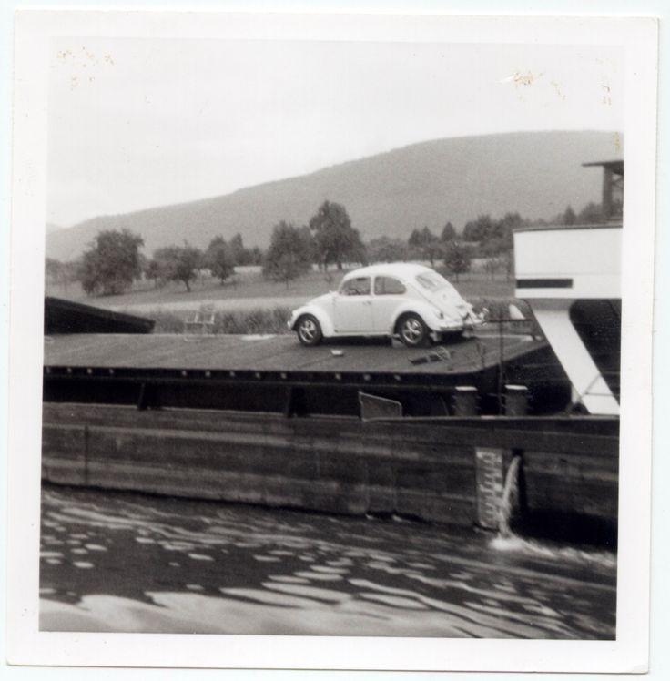 From the family album. Photo dated 03-07-1970. #VW #Beetle #vintage #Realvintage #Neckar #Heidelberg