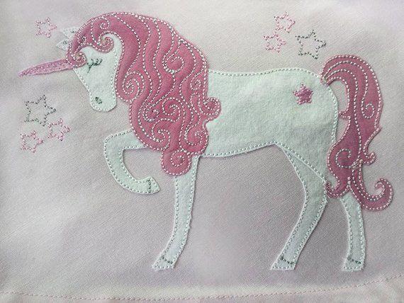 Stickdatei Einhorn 13x18 Pferd Doodle 3d Applique Patterns Machine Embroidery Applique