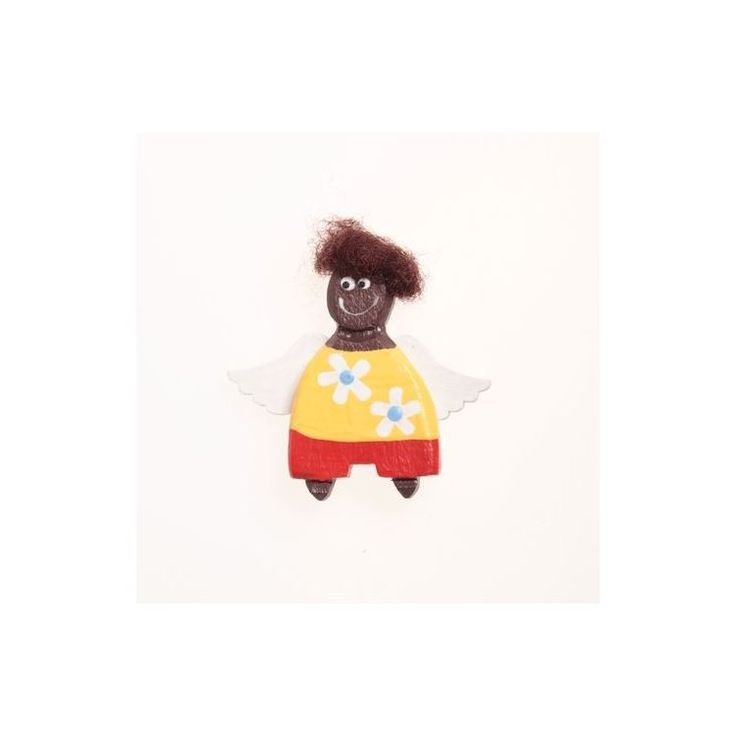 African Angel-Boy Magnet - 3,5 cmAfrican Angel-Boy Magnet - 3,5 cm