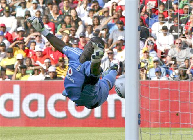 South Africa soccer captain Senzo Meyiwa was shot dead by intruders when trying to protect his girlfriend during a robbery at her home near Johannesburg, officials said on Monday. The 27-year-old Orlando Pirates goalkeeper died on Sunday after suffering a single shot through the chest at the home of girlfriend Kelly Khumalo, a local…