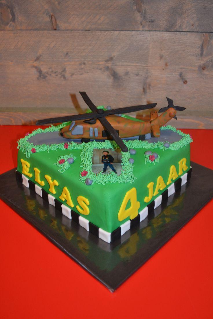 helicopter cake  helikopter taart