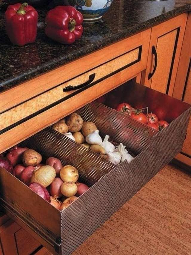 NapadyNavody.sk   26 inšpirácií na skladovanie zeleniny a ovocia pre zachovanie čerstvosti