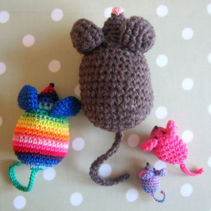 Crocheting Groups : crochet_mouse_group Craft Ideas Pinterest