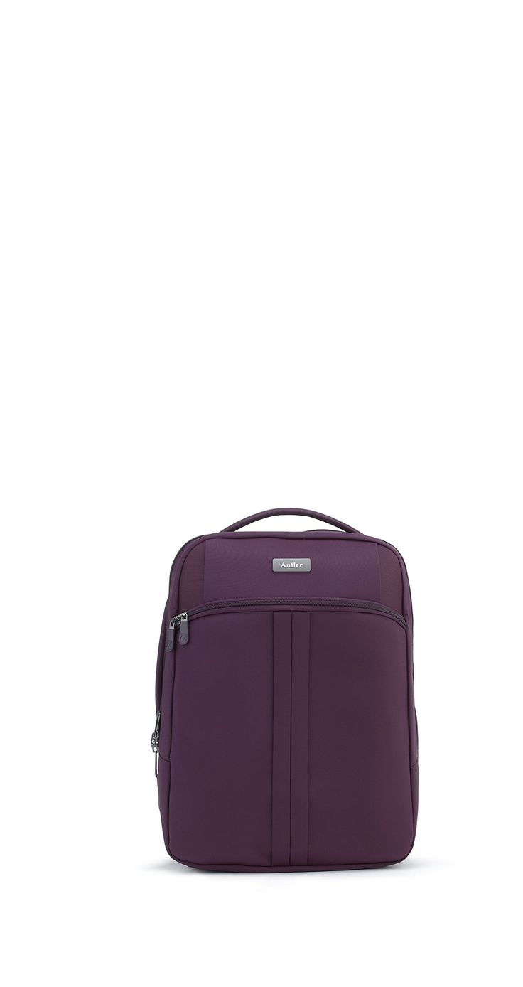 Antler Aire Large Lightweight Backpack, Aubergine, One Size. Innovative super lightweight construction. Internal and external packing pockets. 2 year warranty. Made to match the antler aired lightweight luggage range. 41.6.
