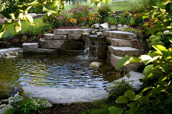 bahçe dekorasyonu süs havuzları
