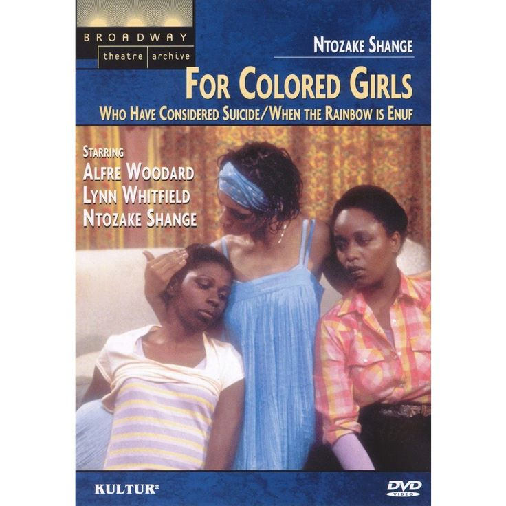 For Colored Girls Who Have Considered Suicide/When the Rainbow Is Enuf (dvd_video)