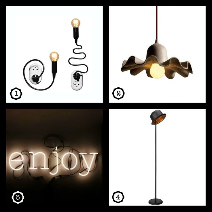 Stylish but fun lamps! Read where to buy them on our blog! www.ginger-blue.nl