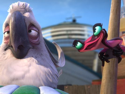"""You're The Evil To My Lethal."" - Gabi & Nigel. I laughed hard. 