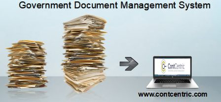 ContCentric provides Document Management System For Government Agencies to access and manage electronic content. ContCentric can meet the needs of government with their electronic document management system and workflow management.