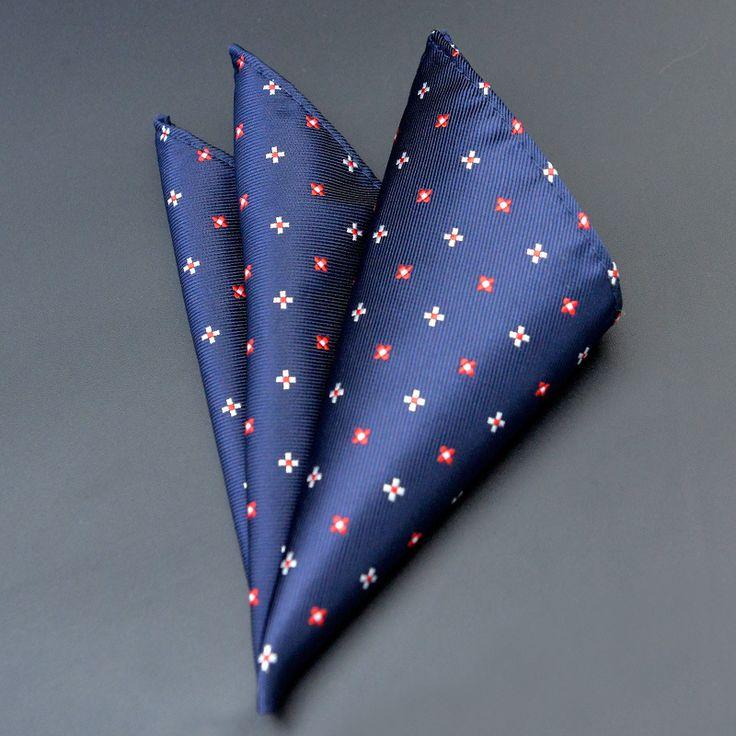 Mantieqingway Vintage Floral Printed Men's Suits Handkerchiefs Business Pocket Square Hankies Wedding Polyester Pocket Hanky