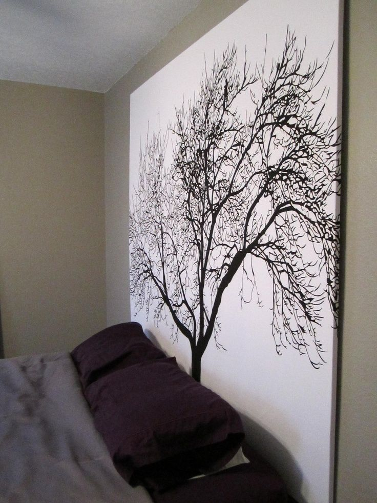 DIY Headboard (shower curtain + wooden frame). - I wouldnt do this but LOVE LOVE idea and had to share