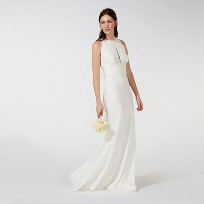 Principles by Ben de Lisi Ivory 'Mia' bridal dress | Debenhams
