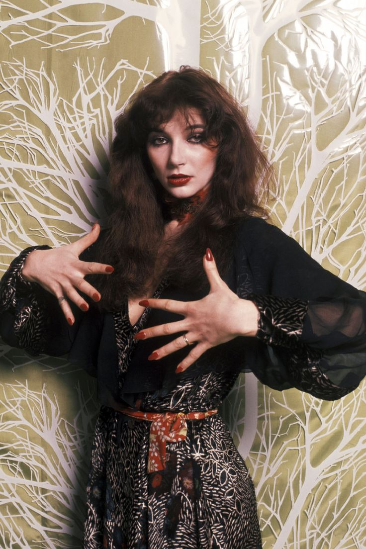 Kate Bush, photographed by David Bailey for Vogue, 1970s